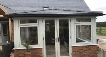 New Build PVCu Flush Door