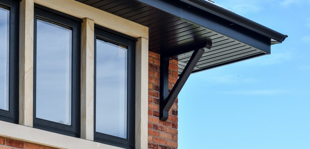 contemporary flush windows self build and doors