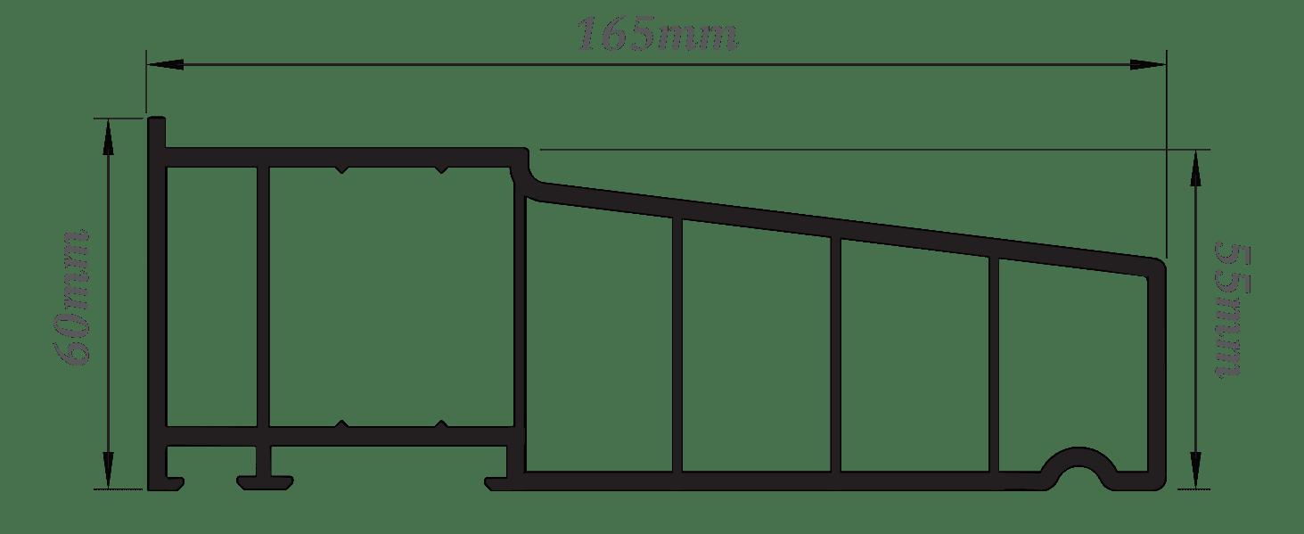 radlington cill dimensions