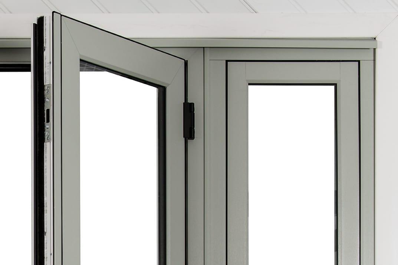 new flush french doors