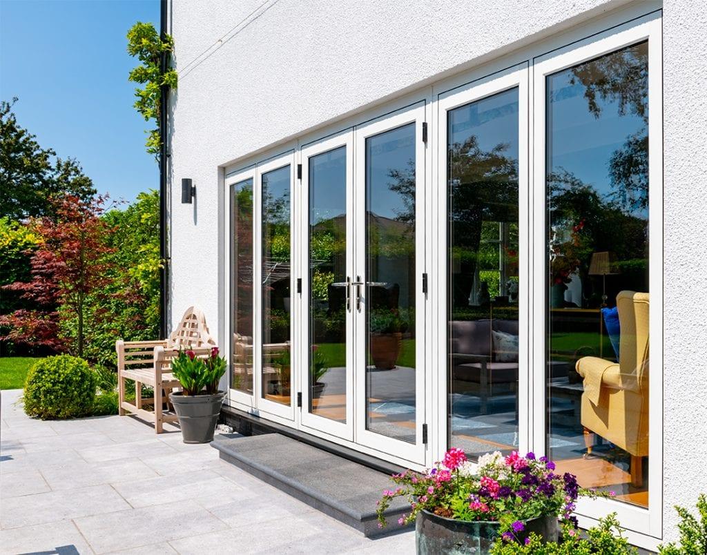 flush casement french patio doors cottage
